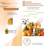 III Congreso Nutrición Deportiva, Cineantropometría y Salud